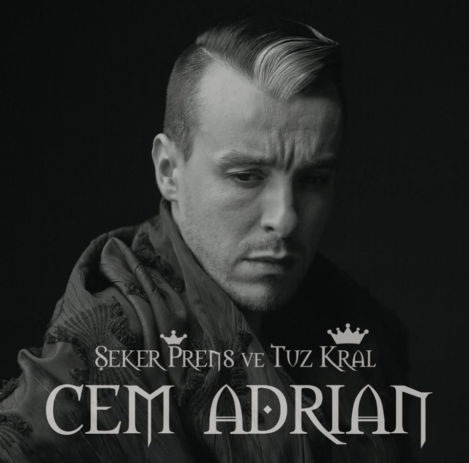 Cem Adrian - Şeker Prens ve Tuz Kral - Albüm Kapağı